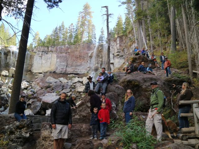 field trips to tumalo falls in central oregon
